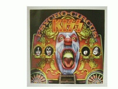 Kiss Promo Poster Psycho Circus 2 sided