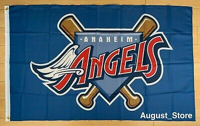 Retro Los Angeles Angels of Anaheim 3x5 ft Flag Banner MLB