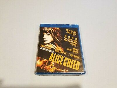 The Disappearance of Alice Creed (Blu-ray Disc, 2010) New