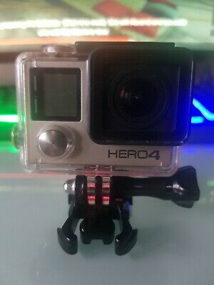GoPro Hero4 Silver Edition Camcorder - Waterproof Case + 32GB Micro SD