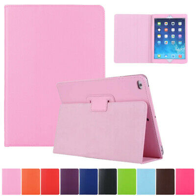 For iPad 9.7 2018 6th Gen Mini Air Pro Case Smart Shockproof Leather Stand Cover
