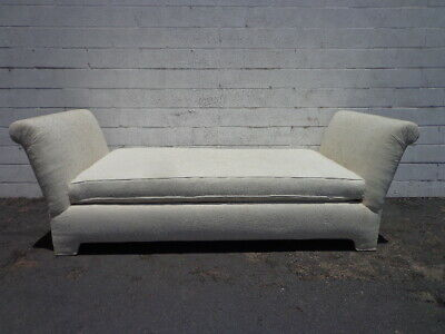 Vintage Daybed Chaise Lounge Settee Loveseat Sofa French Lounge Shabby Chic