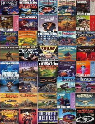 Robert A. Heinlein 39-AUDIOBOOKS Collection (MP3) 📧⚡Email Delivery(10s)⚡📧