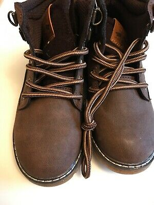 watch arrives thoughts on SAINSBURYS TU SIZE 10 Brown Boys Boots Brand New With Tags ...