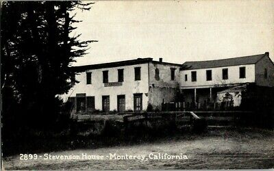 EARLY 1900'S. STEVENSON HOUSE. MONTEREY, CA. POSTCARD s15