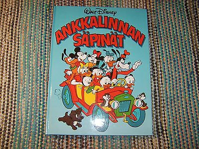 Ankkalinnan Sapinat Finnish Donald Duck Aku Ankka comics book by Walt Disney