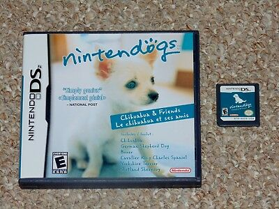 Nintendogs: Chihuahua & Friends Nintendo DS Game & Case