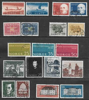 NORWAY - 8 x Used Sets - 1963/64 Issues.  Cat £21+