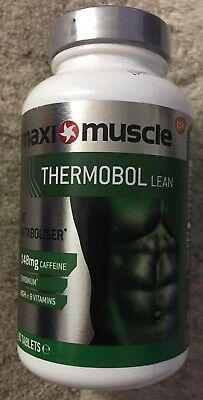 MAXI MUSCLE THERMOBOL LEAN fat burner metaboliser diet weight loss 90 tabs