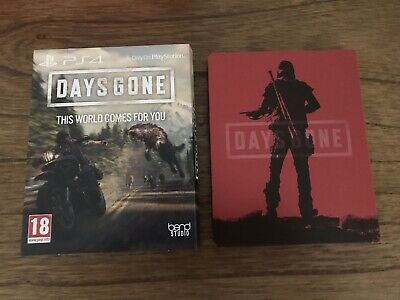 Days Gone Steelbook And Outer Case PS4 (No Game Included)