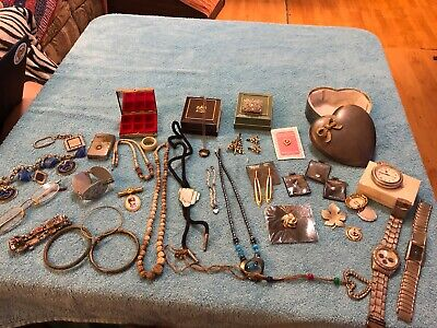 Junk Drawer- Lot of Misc. Vintage Jewelry