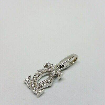 286c9ee151059 CARTIER DIAMOND AND White 18K Gold Stud Earrings - $2,350.00 | PicClick