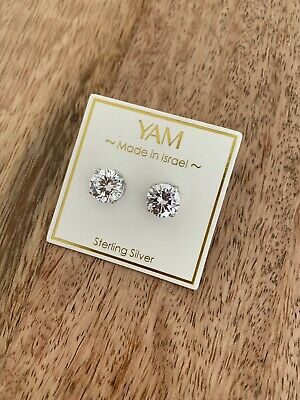 Indigo Falls Sterling Silver With White Sedef Earrings Retail $48
