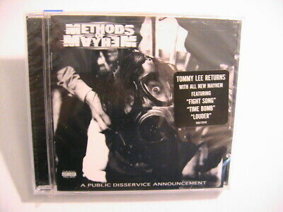 New Methods Of Mayhem A Public Disservice Announcement CD Sealed Tommy Lee