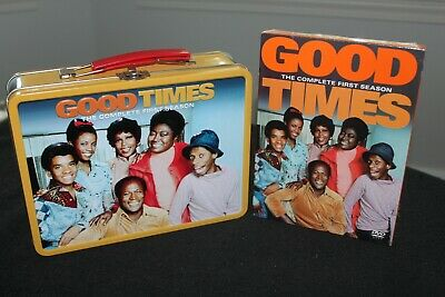 Good Times Lunch Box & DVD Set - The Complete First Season - NEW