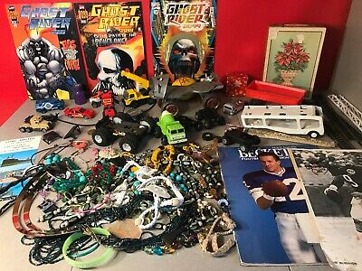 Junk Drawer Jewelry, Toys, Comic Lot