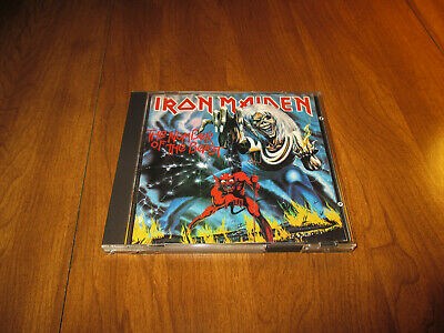 """CD IRON MAIDEN THE NUMBER OF THE BEAST SPECIAL EDITION RARE heavy metal live7""""lp"""