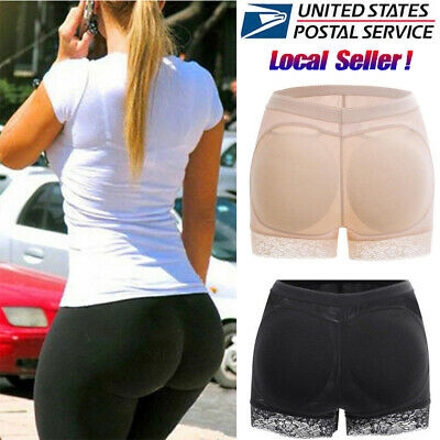 Padded Pads Panties Butt Lifter Hip Enhancer Underwear Buttock Shapewear Briefs