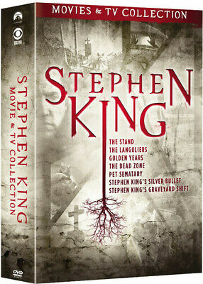 STEPHEN KING: MOVIES & TV Collection [New DVD] Boxed Set, Full Frame,  O-Card P