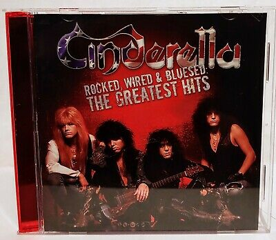 Cinderella :  Rocked Wired & Bluesed The Greatest Hits CD  NICE !