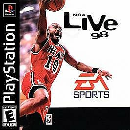 NBA Live 98 (Sony PlayStation 1, 1997)