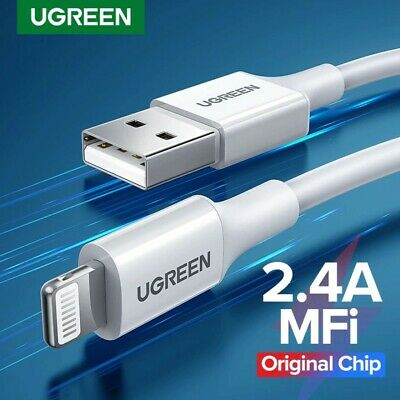UGREEN Lightning Cable to USB MFi Certified Charge Data Cable for iPhone iPad