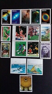 U.S.A  Nice Assorted MNH Stamps, Block & Strip as Per Photos. Very Low Start