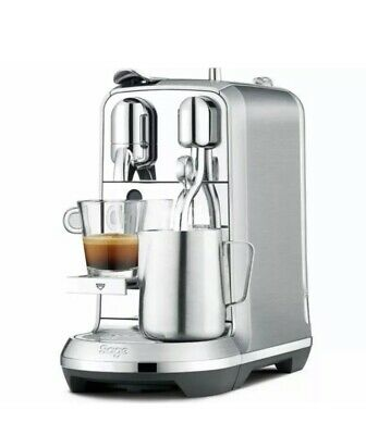 NESPRESSO by Sage Creatista Plus BNE800BSS Coffee Machine - Stainless Steel - Cu