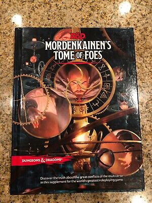 Dungeons And Dragons D&D Mordenkainen's Tome of Foes by Wizards