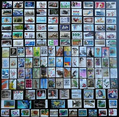AUSTRALIA mixed bulk lot, decimal collection, used, 150 different, MAU331