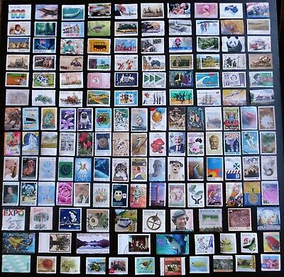 AUSTRALIA mixed bulk lot, decimal collection, used, 150 different, MAU332