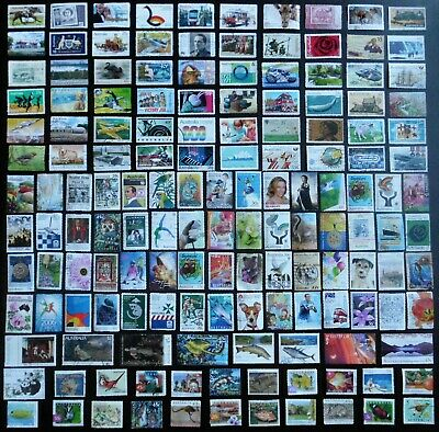 AUSTRALIA mixed bulk lot, decimal collection, used, 150 different, MAU334