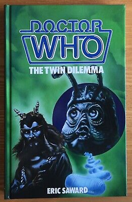 Doctor Who The Twin Dilemma 1985 W.H.Allen hardback book mint & NOT ex-library