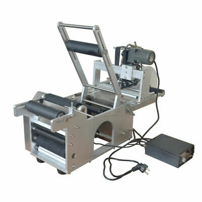 LT-50D Automatic Code Printer With Date Labeling Round Bottle Machine Labeller