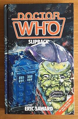Doctor Who Slipback 1986 W.H.Allen hardback book mint & NOT ex-library