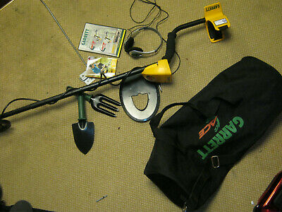 Garrett Ace 250 Metal Detector & extras used on 2 occasions