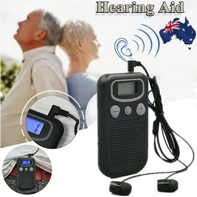 Magic Ear Hearing Aid Device Personal Booster Sound Hearing Amplifier Digital M