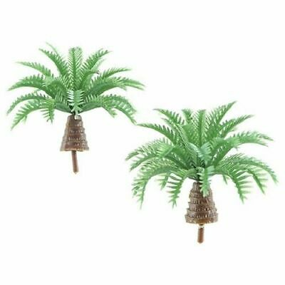 Miniature Dollhouse Fairy Garden Set of 2 Mini Palm Trees  - Buy 3 Save $5