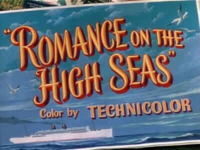 Romance on the High Seas ~ RARE Classic Comedy DVD 1948 ~ Janis Paige Doris Day