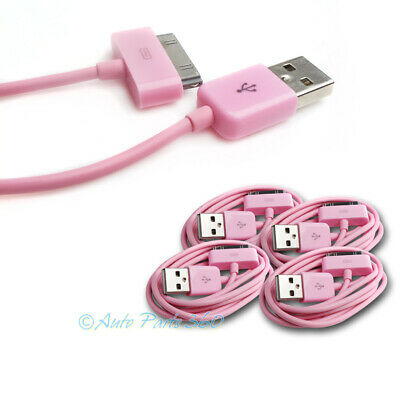 4X 3Ft Usb 30Pin Pink Cable Data Sync Charger Samsung Galaxy Tab 7.0 8.9 10.1