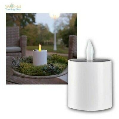 Solar Candle for Indoors & Outdoors LED Electric Flickering mi Light Sensor as