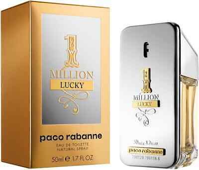 1 ONE MILLION LUCKY * PACO RABANNE * Cologne for Men * 1.7 / 3.4 / 6.7 Oz * NIB