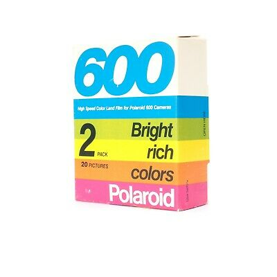 * Polaroid 600 High Speed Color Land Film Two Pack Expired