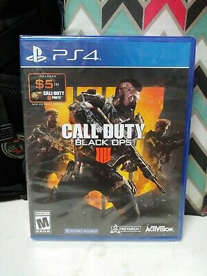 New - Call of Duty: Black Ops IIII 4 COD (Sony PlayStation 4) PS4  **SEALED**