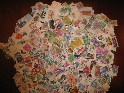 Usa Bargain Lot 4 Ounces Off Paper - 1/4 Pound (114 Grams)  Stamps