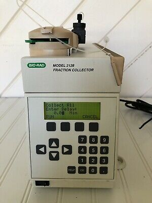Bio -Rad Model 2128 Fraction Collector /Used