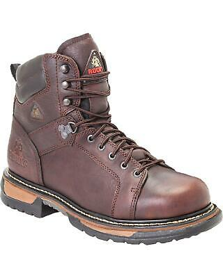 9220f7537b1 ROCKY IRONCLAD WATERPROOF Lace-to-Toe Work Boot - Round Toe - FQ0005703