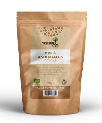 Organic Astragalus Root Powder - Promotes Healing | Reduces Fatigue & Digestion
