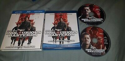 Inglourious Basterds (Blu-ray/DVD, 2011, 2-Disc Set, Canadian)