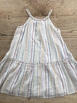 Girls M&S Summer Dress. Age 4-5 Yrs. Worn Once.